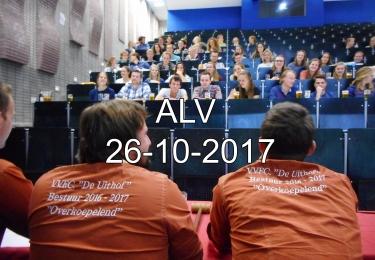 Algemene Leden Vergadering 26-10-2017