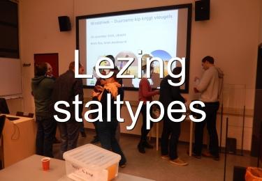 Lezing stal types