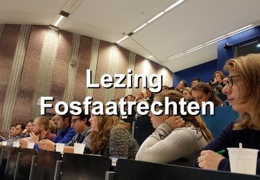 Lezing Fosfaatrechten