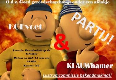 KOEvoet en KLAUWhamer partij