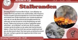 Lezing stalbranden