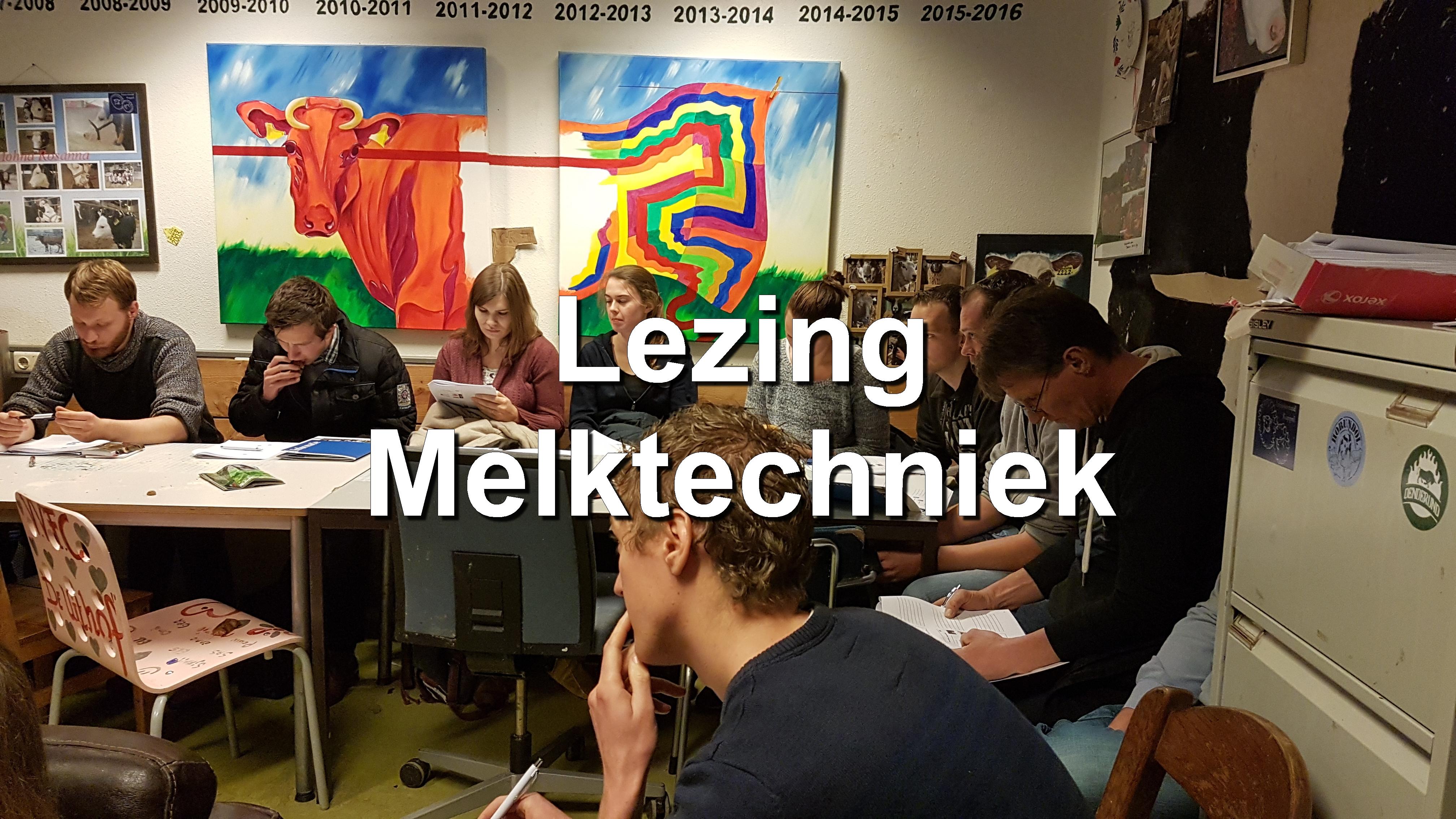 Lezing melktechniek