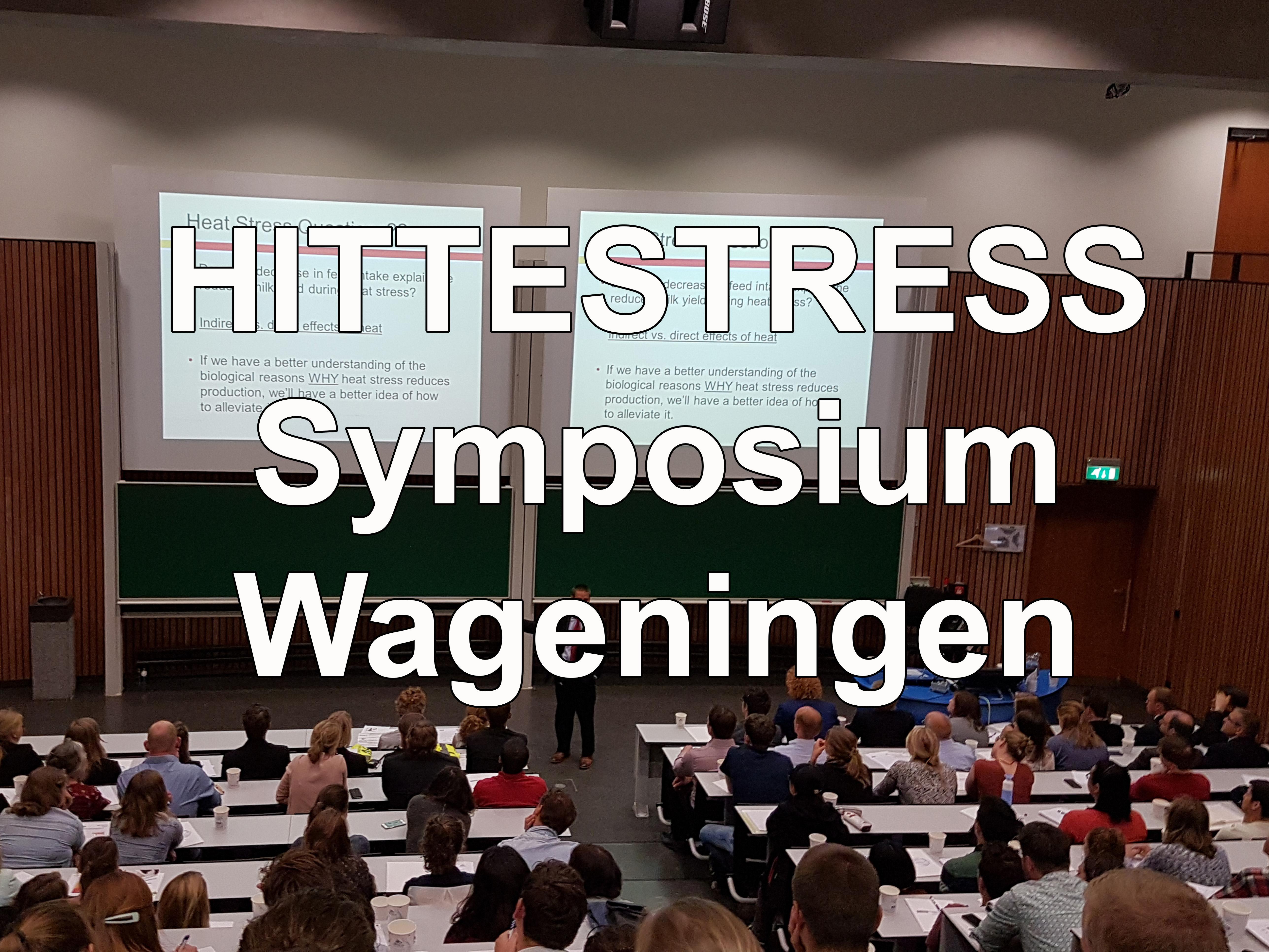 Hittestress symposium Wageningen